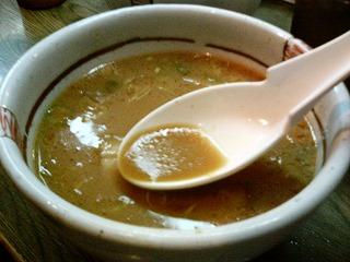 さくらんぼつけ麺スープ割り