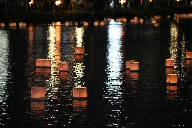 旧中川灯篭流し (11)