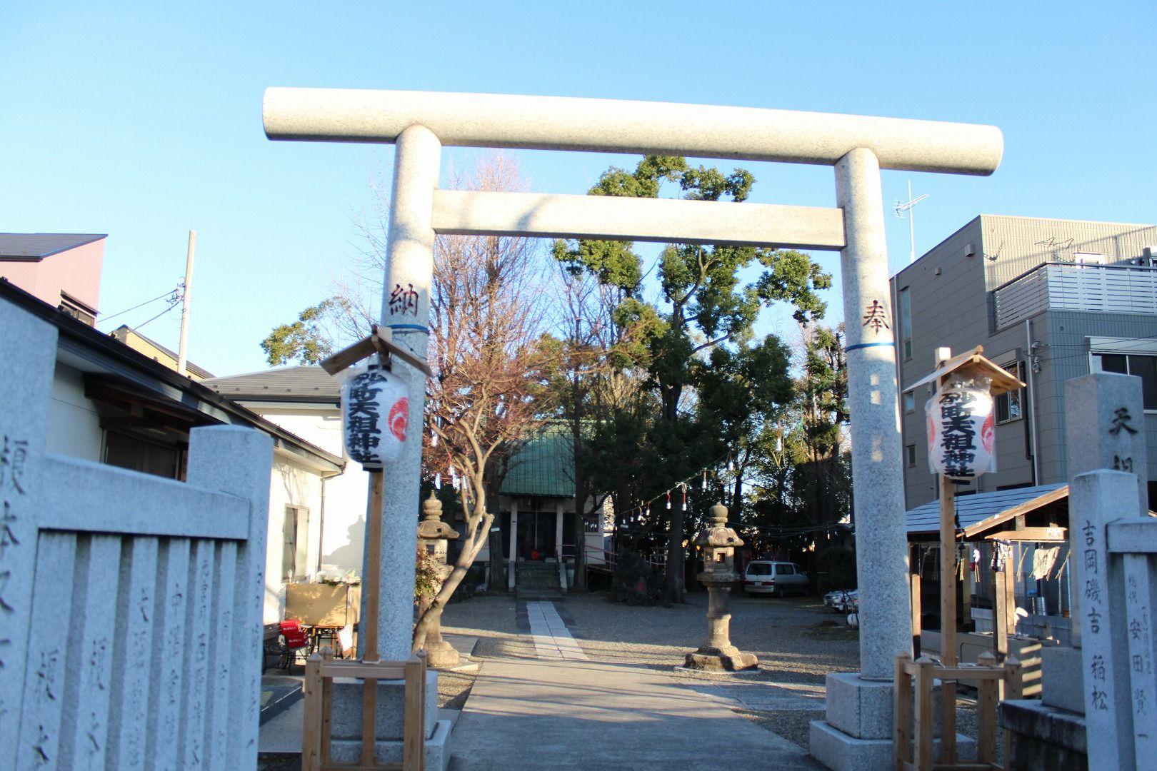 「砂町銀座 神社」の画像検索結果
