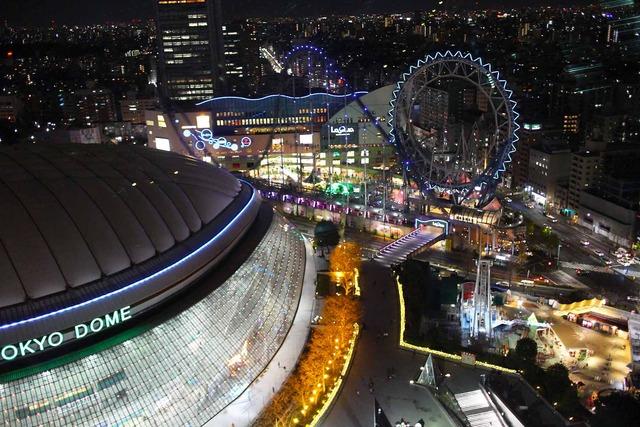 東京ドームホテルとラクーア (4)