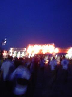 夜とフェス