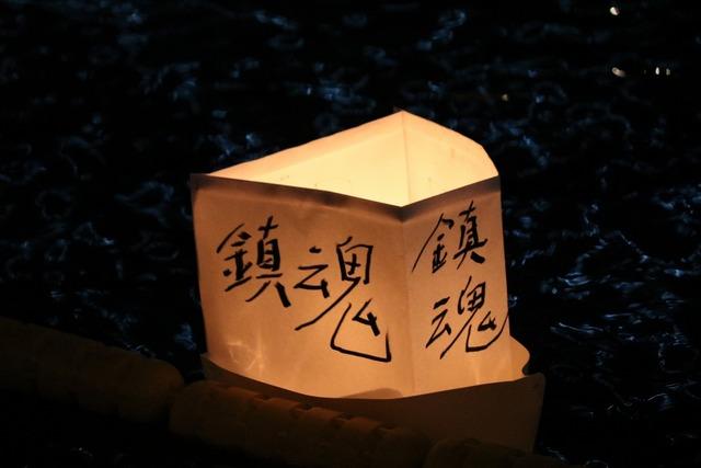 旧中川灯篭流し (7)