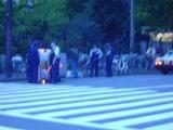 横転事故1