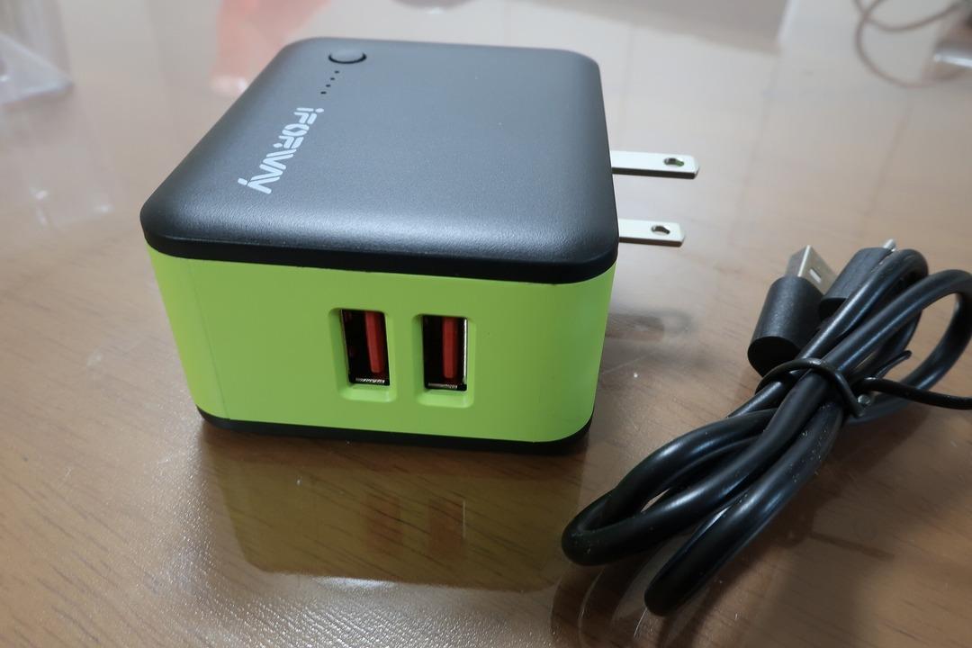 モバイルバッテリー ACアダプター (4)