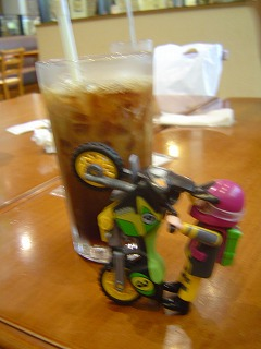 スロライ君とアイスコーヒー