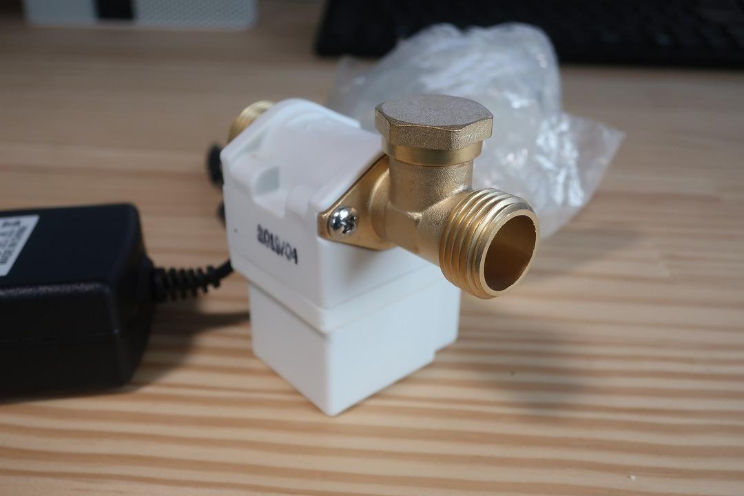 電磁弁で散水栓をオンオフ (2)