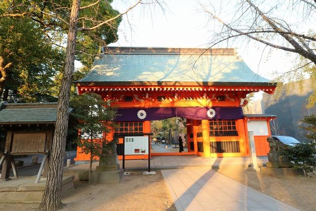 葛飾八幡宮参道 (3)