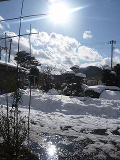 快晴な仙台の空