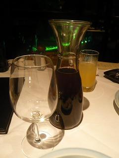 赤ワインデキャンタ