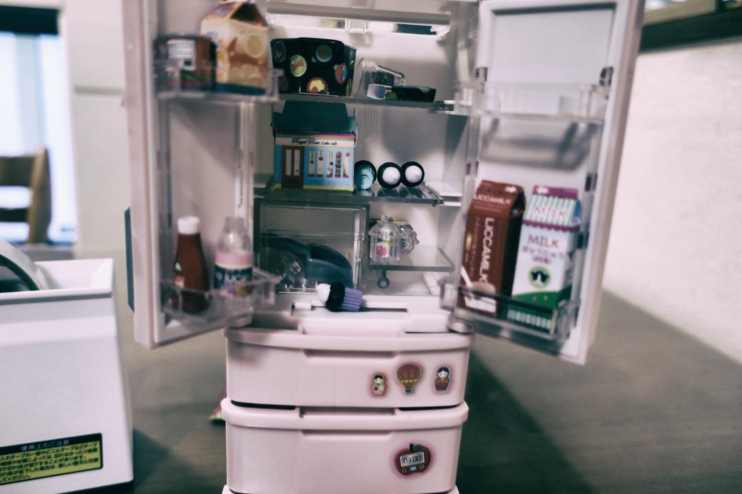 リカちゃんの冷蔵庫  (2)