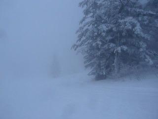 SlowRiderスノーボード雪山