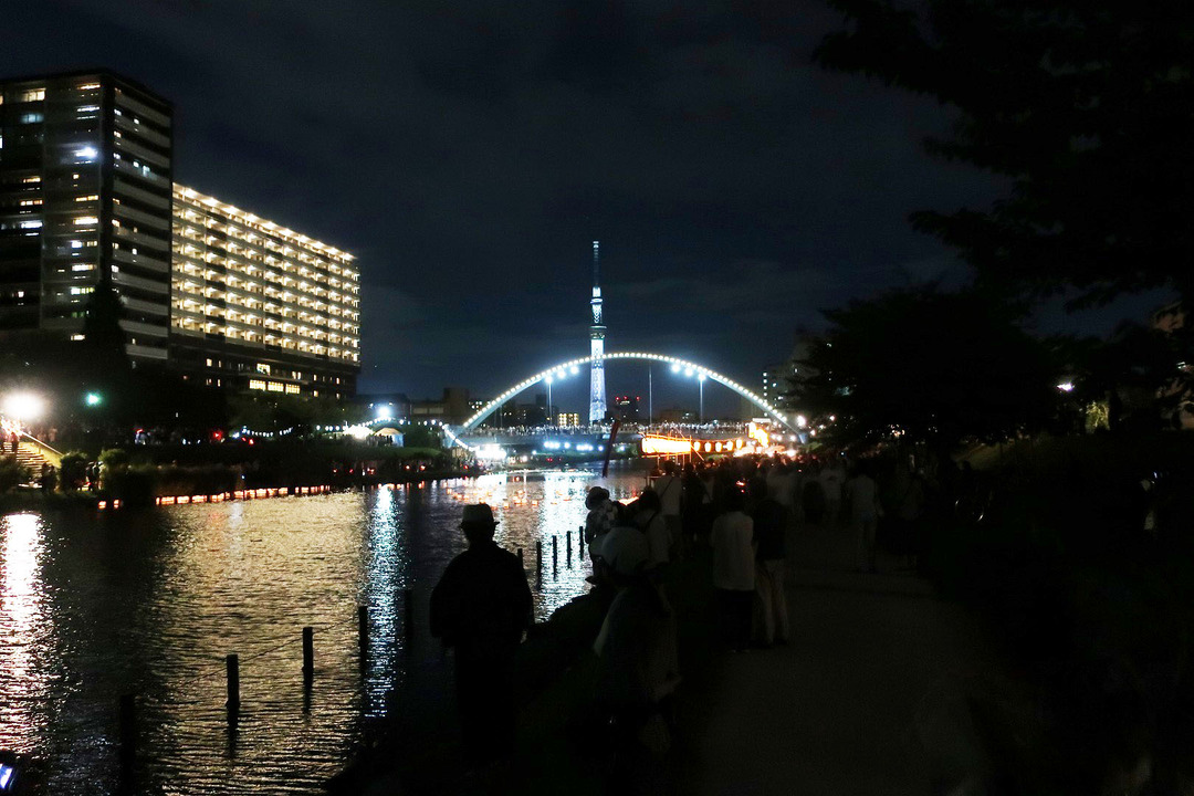 旧中川灯篭流し (1)