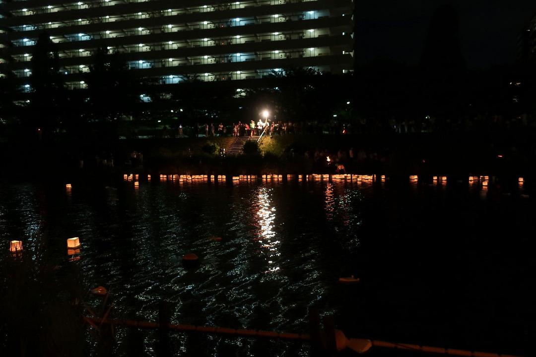 旧中川灯篭流し (2)