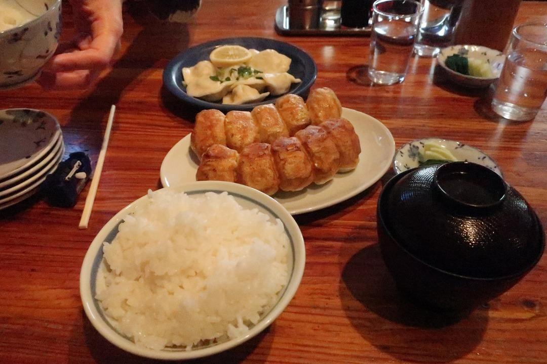 ホワイト餃子 (5)