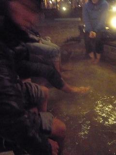 瀬音の湯の足湯とSlowRider