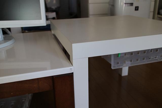 ikeaテーブル (1)