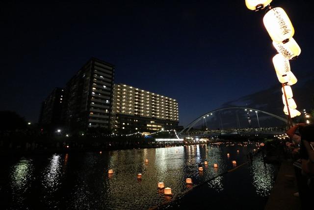 旧中川灯篭流し (15)