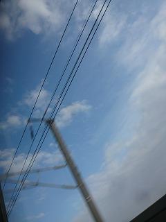 新幹線からの空