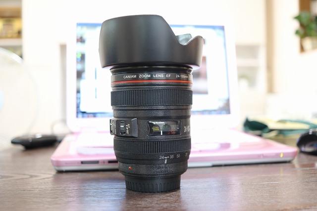 カメラレンズ型貯金箱 (2)