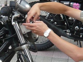 スローライダー腕時計