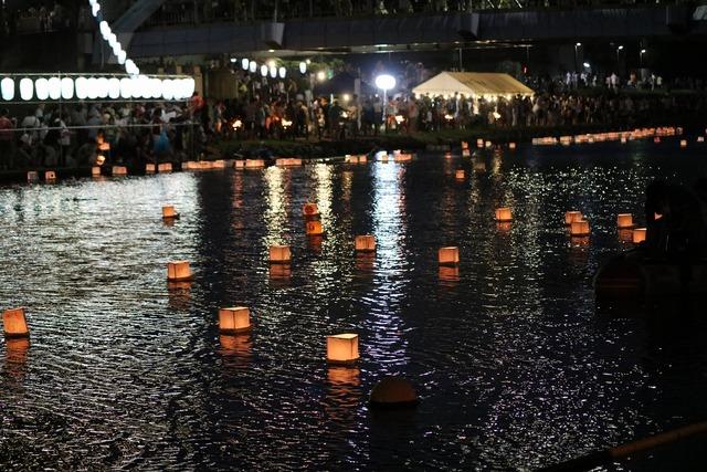 旧中川灯篭流し (13)