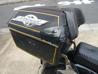 古いリアボックス