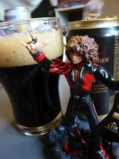 ヒーセと黒ビール