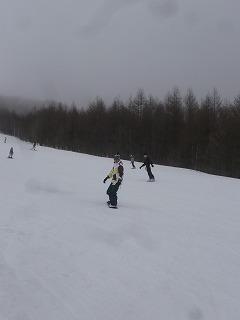 SlowRiderスノーボード中