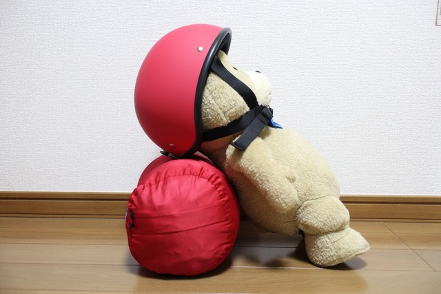 赤いヘルメット (2)