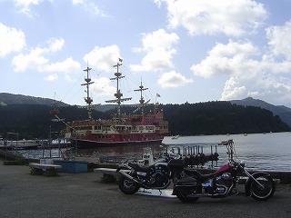 海賊船とSTEEDとV−MAX