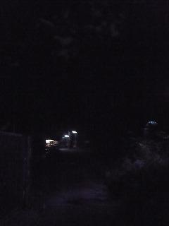 闇夜の蕎麦屋