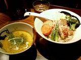 虎洞 かぼちゃチーズつけ麺