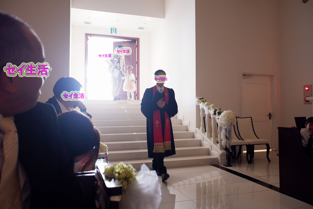ダイジュさん結婚式 (2)