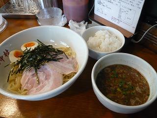 魚だし和風つけ麺