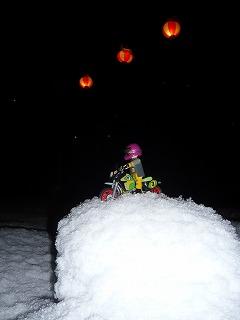スロライ君と雪