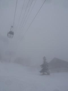 SlowRiderスノーボード吹雪