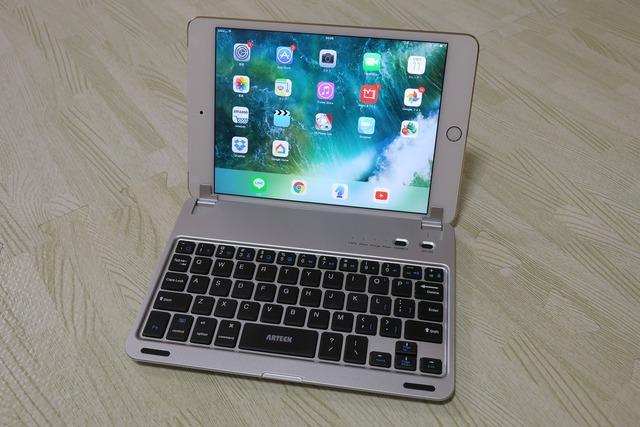 iPad Mini4用Bluetoothキーボードフォリオケースカバー (7)
