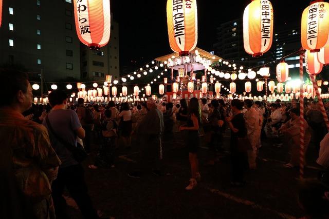 築地本願寺盆踊り (7)