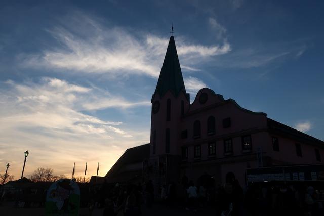 ドイツ村の夕暮れ (1)