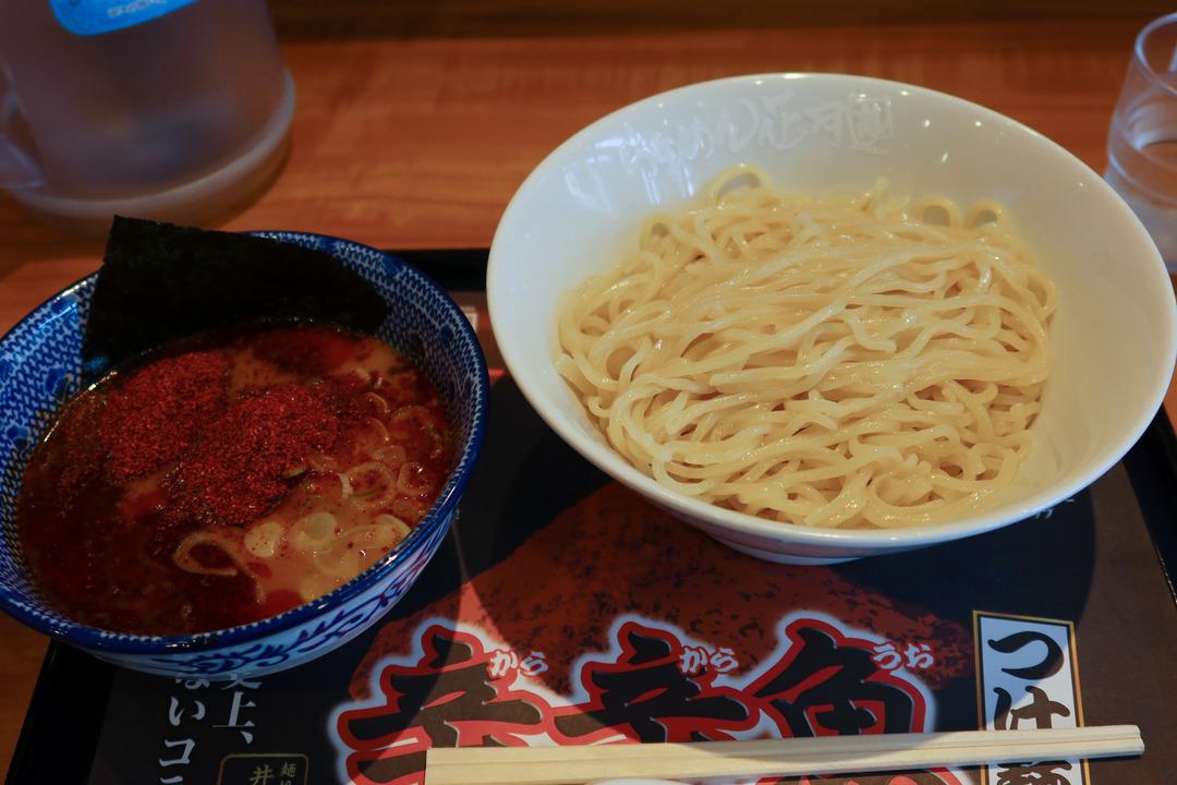辛辛魚つけ麺 (2)