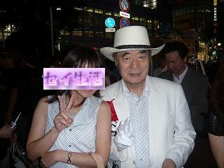 ドクター中松と2ショット