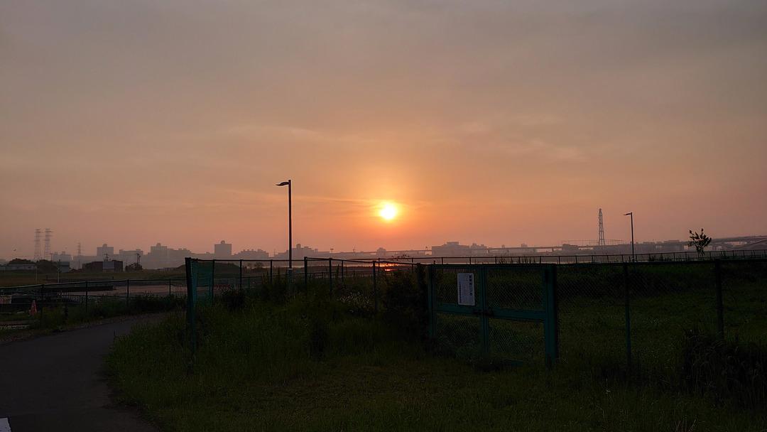 朝焼けの散歩道 (11)