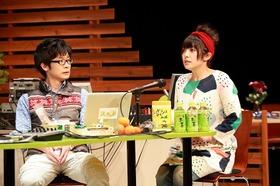 ゲネプロ終了後、寺島拓篤さんと佐藤聡美さんに取材をさせていただきました!お時間いただきましてありがとうございます!