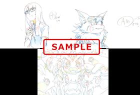【2週目】原画ポストカードセット Cセット