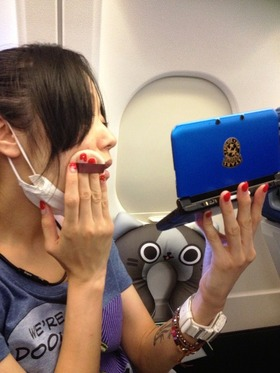 航空機内の風景1