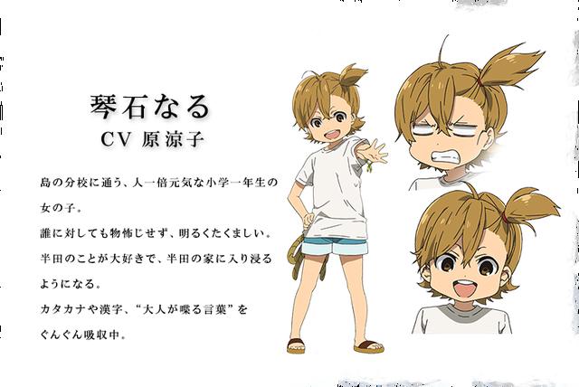 "7 Year Old Anime Characters : Tvアニメ『ばらかもん』作品の舞台""五島のひと キャスト大公開 声旬!"
