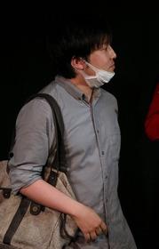 声優役を演じる小田柿さん
