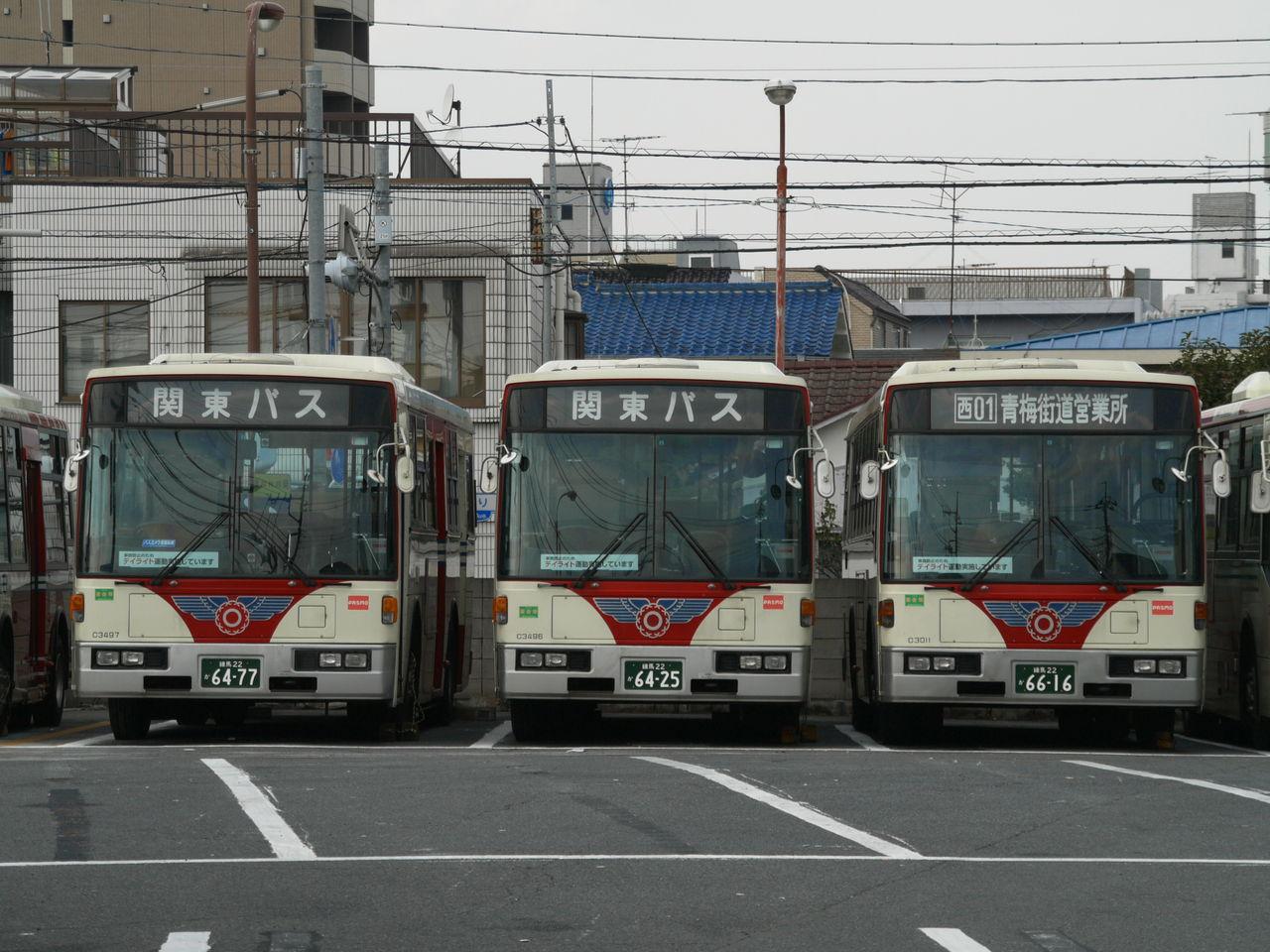 関東バス : 西武関東バス日記
