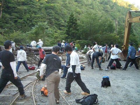 2005荒川登山口