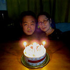 2日遅れのケーキの日♪